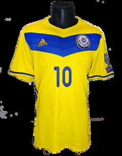 Kazakhstan 2016/18 Away Matchprepared Aleksey Shchetkin