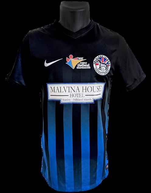 Falkland Islands 2017/18 Matchworn Michael Betts