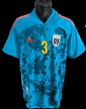 Cape Verde 2020/21 Home Matchworn Steven Fortès