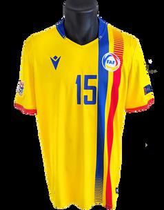 Andorra 2020/21 Matchworn Moi San Nicolás