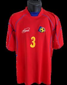 Andorra 2004 Matchworn Txema