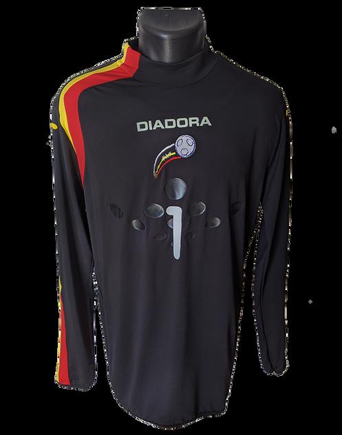Andorra 2005/06 GK Matchworn Koldo Álvarez