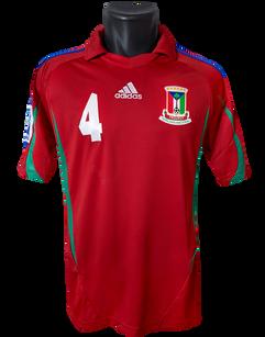 Equatorial Guinea ♀ 2011 Matchprepared Carolin