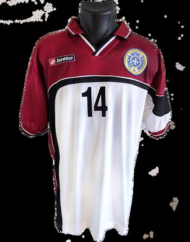 Georgia 2000/01 Away Matchworn