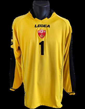 Montenegro 2008/09 Goalkeeper Matchworn Vukasin Poleskic