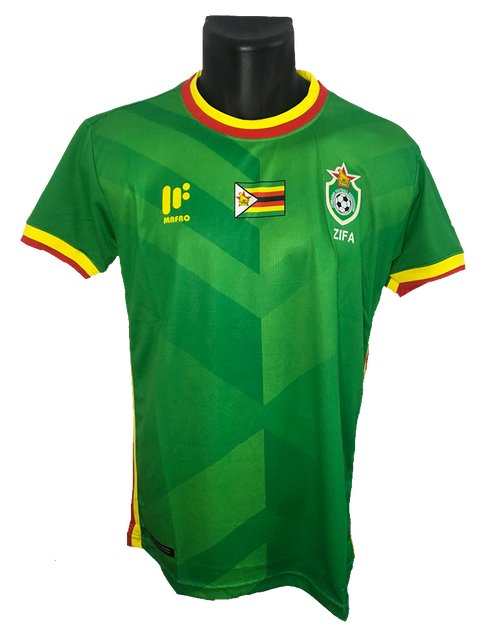 Zimbabwe 2017/18 Away