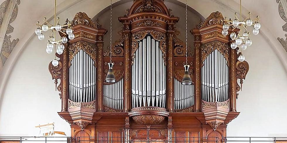 Orgelandacht in der Passionszeit