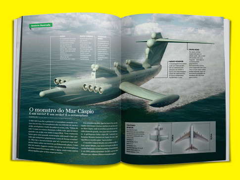 Aventuras na História - O Monstro do Mar Cáspio
