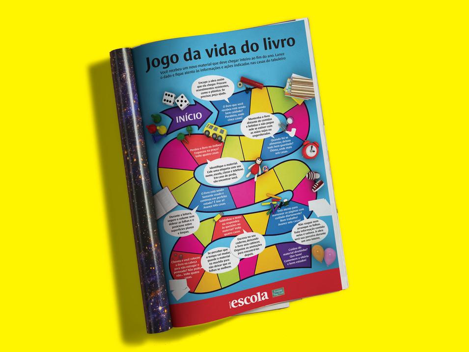 Revista Nova Escola - Pôster/Jogo