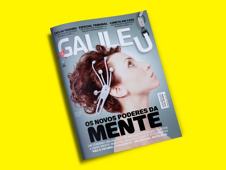 Capa - revista Galileu