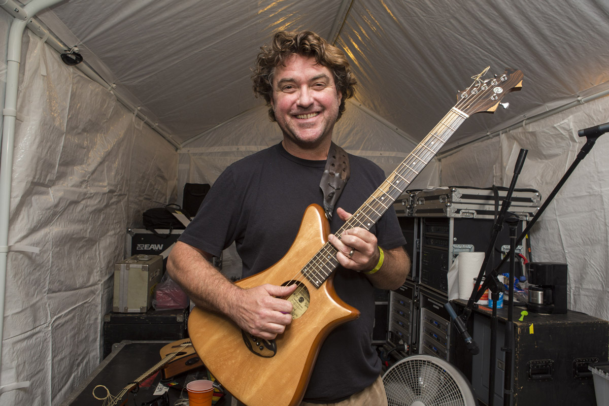 Keller Williams backstage