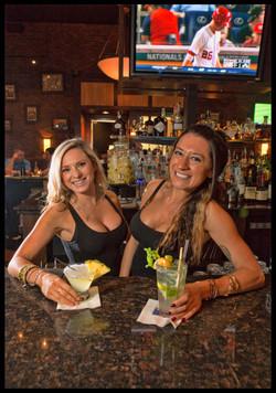 Bartenders Amanda & Alyssa