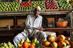 Mumbai Farmers' Market in India