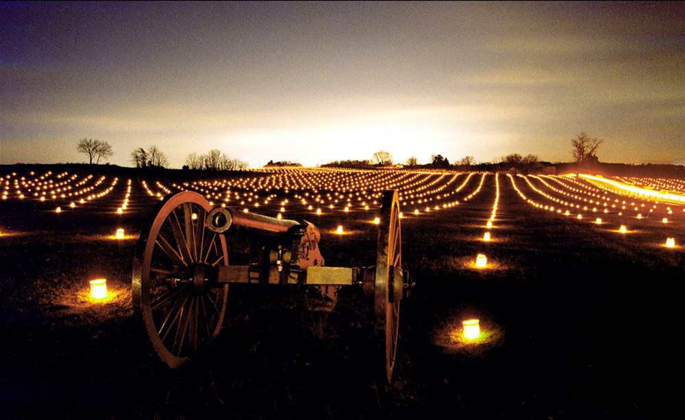 Battlefield Memorial Illumination