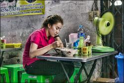 Bizarre street food in Hanoi