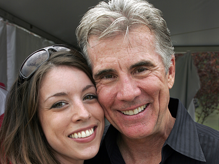 John Walsh with his daughter