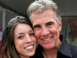John Walsh and his daughter
