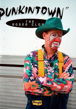 Punkintown Rodeo Clown
