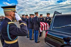 Funeral at Arlington, VA