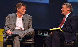 Michael Lewis and Steve Kroft