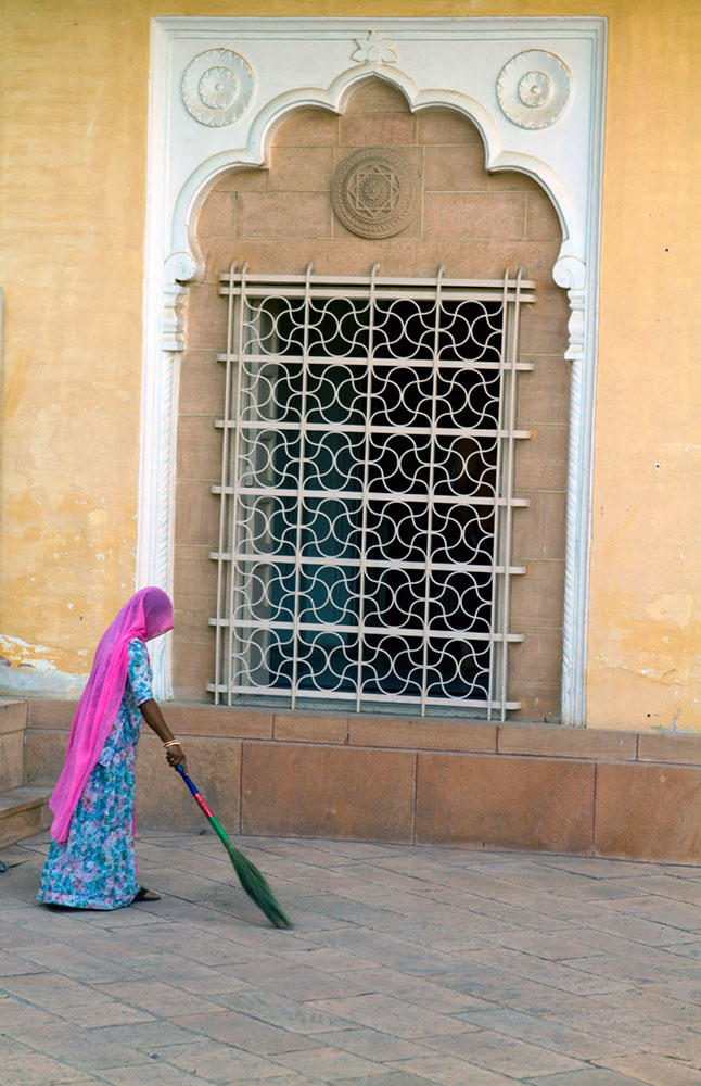 15th-century Mehrangar in India