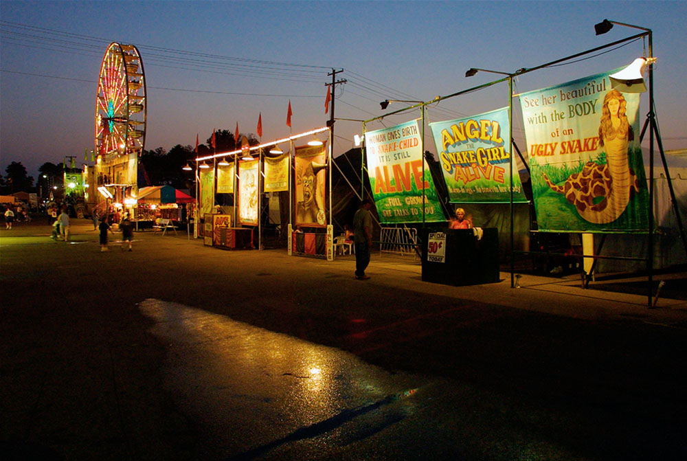 The Sideshow at the State Fair