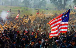 Bloody Lane-Antietam Reenactment