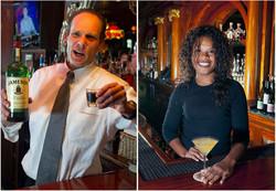 Bartenders John Blair and Boomer