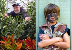 Gardener Mike McGrath- Emerson Minor