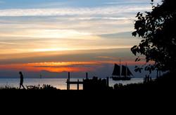 Okracoke island, sunset cruise