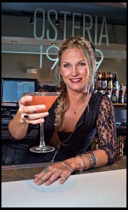 Bartender Lauren Sevadjian