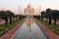Taj Mahal, most popular attraction