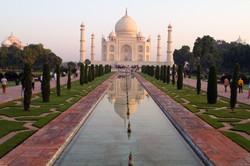 Taj Mahal, most popular attraction