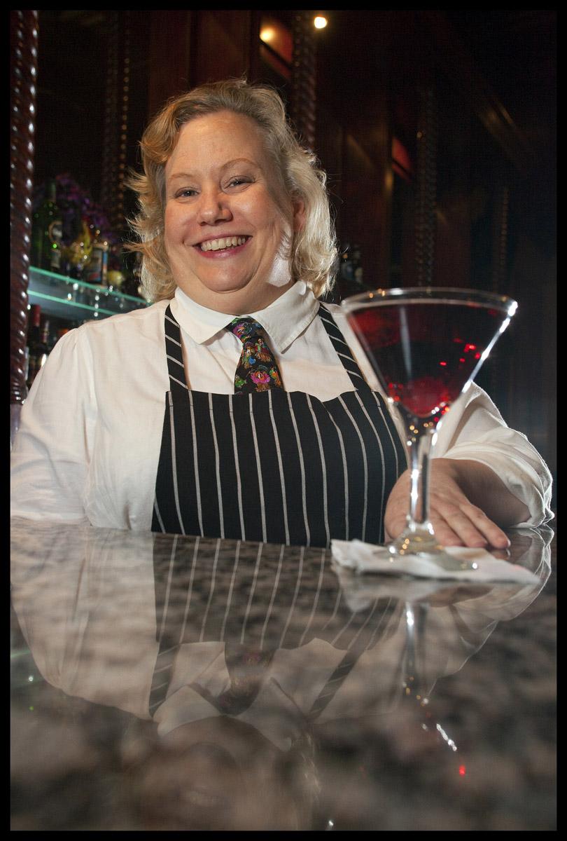 Bartender Angie Napolitano
