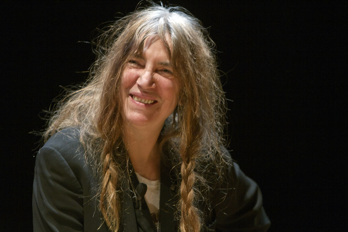 Patti Smith - poet, writer, singer