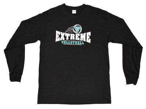 Long-Sleeve Black T-Shirt