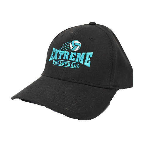 Black Hat with Teal or White Logo