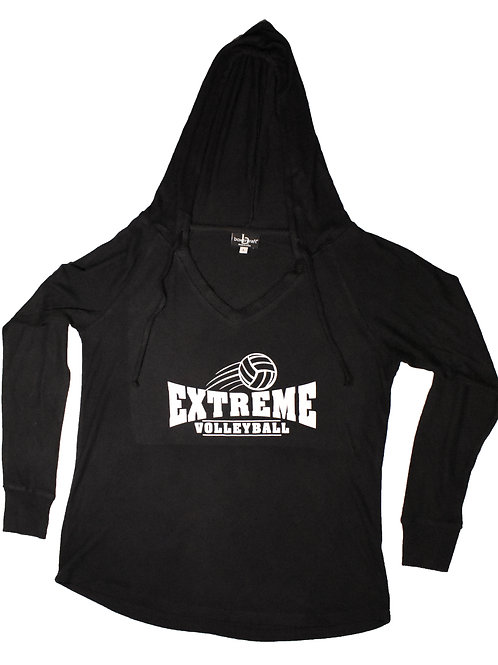 CLEARANCE - Lightweight V-Neck Hoodie