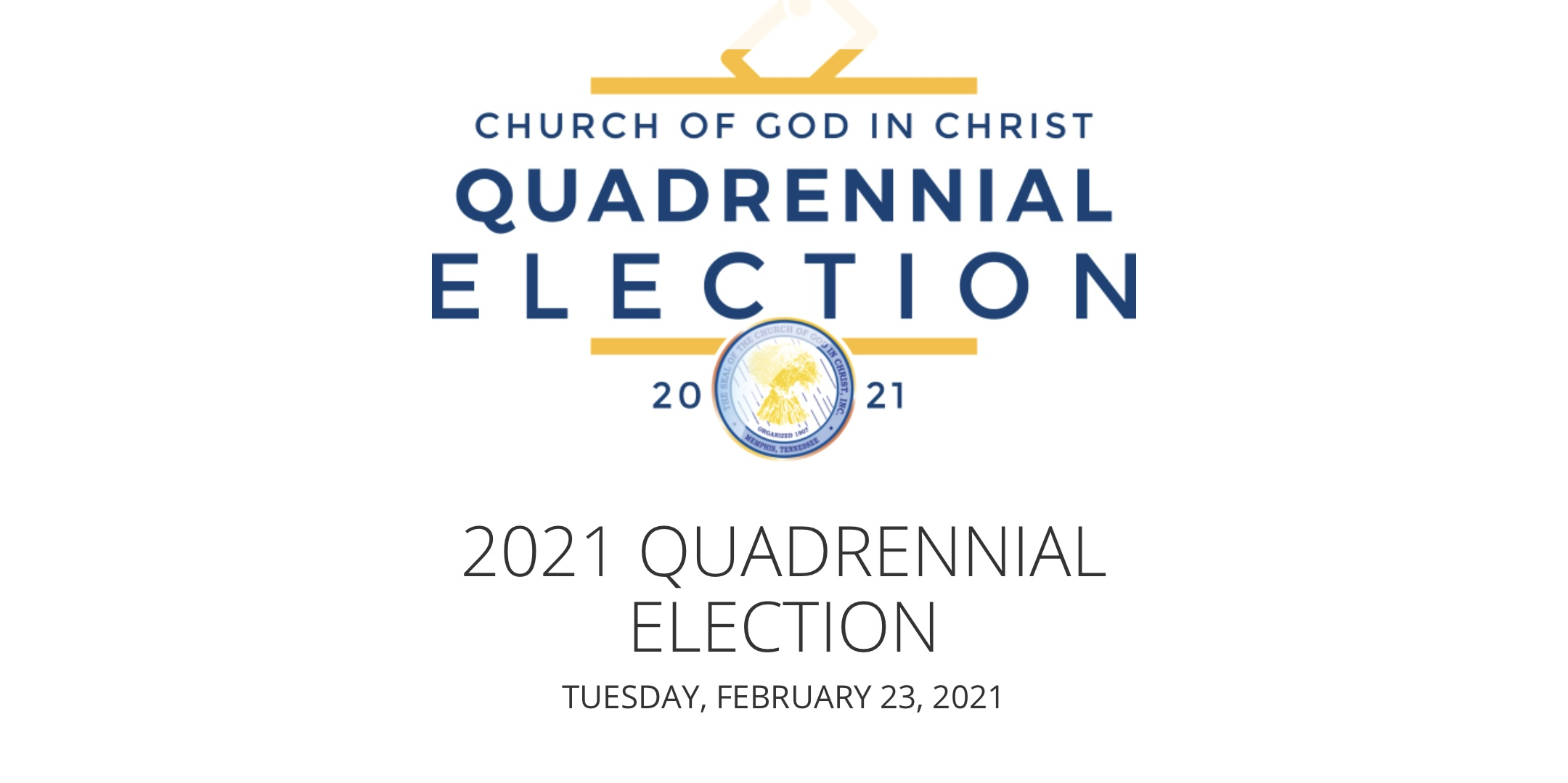 Quadrennial Election 2021