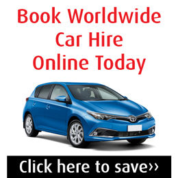 Booking link for worldwide car hire