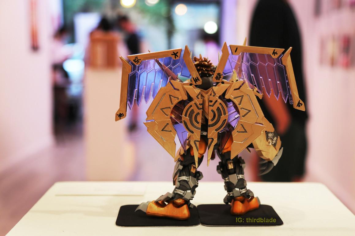 A model made by Thirdblade  Credit: Thirdblade   http://thirdbladephoto.com/