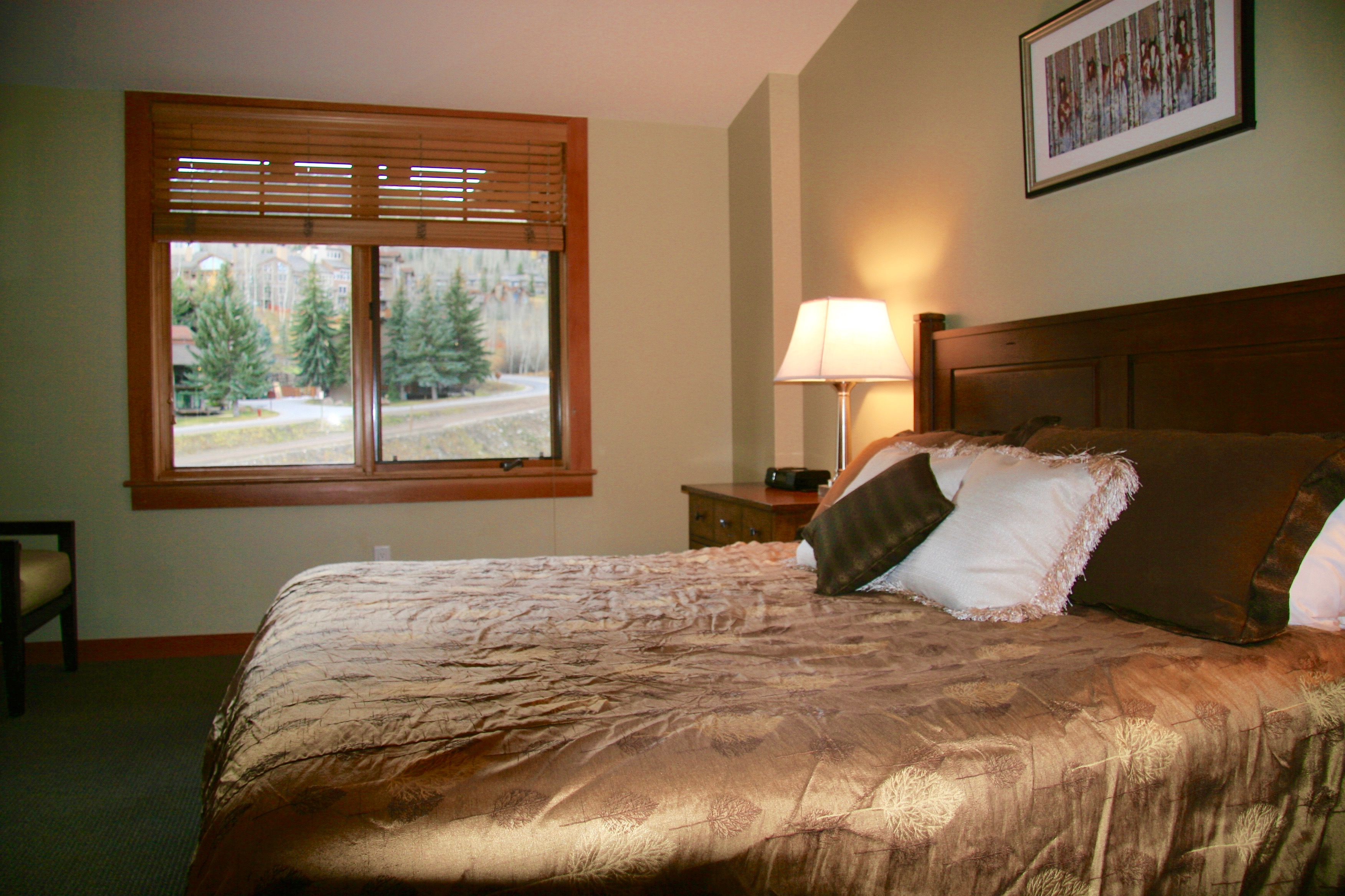Master Bedroom 2 with Mountain Views