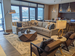 606 East - Open Concept Living Area
