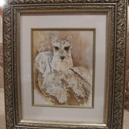 Hutch- A Pet Portrait