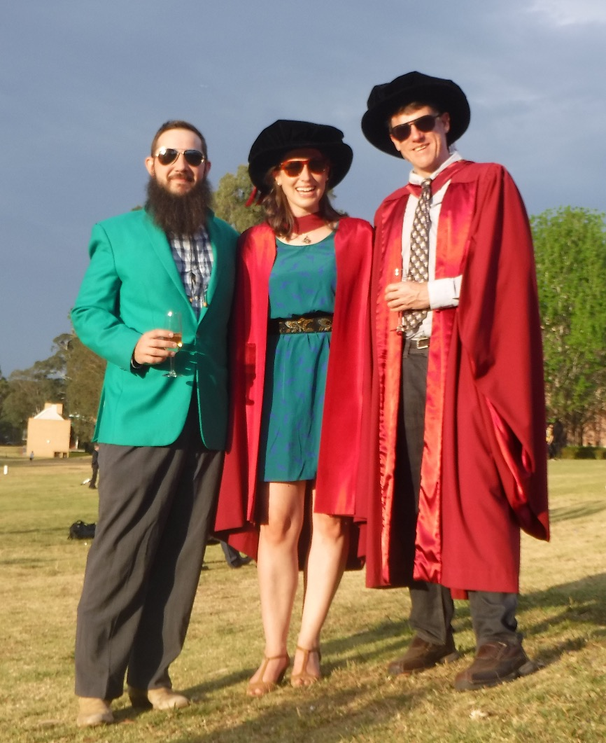 Celebrating graduation - too cool for school!