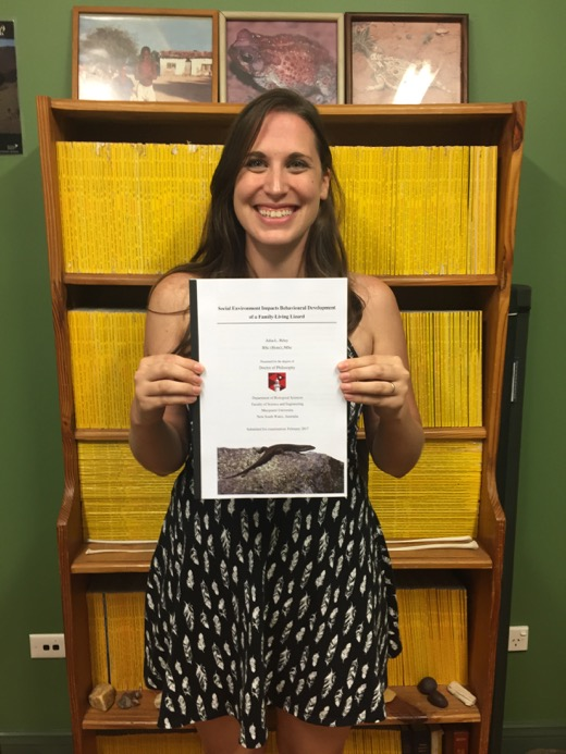 Submitting my thesis for review!
