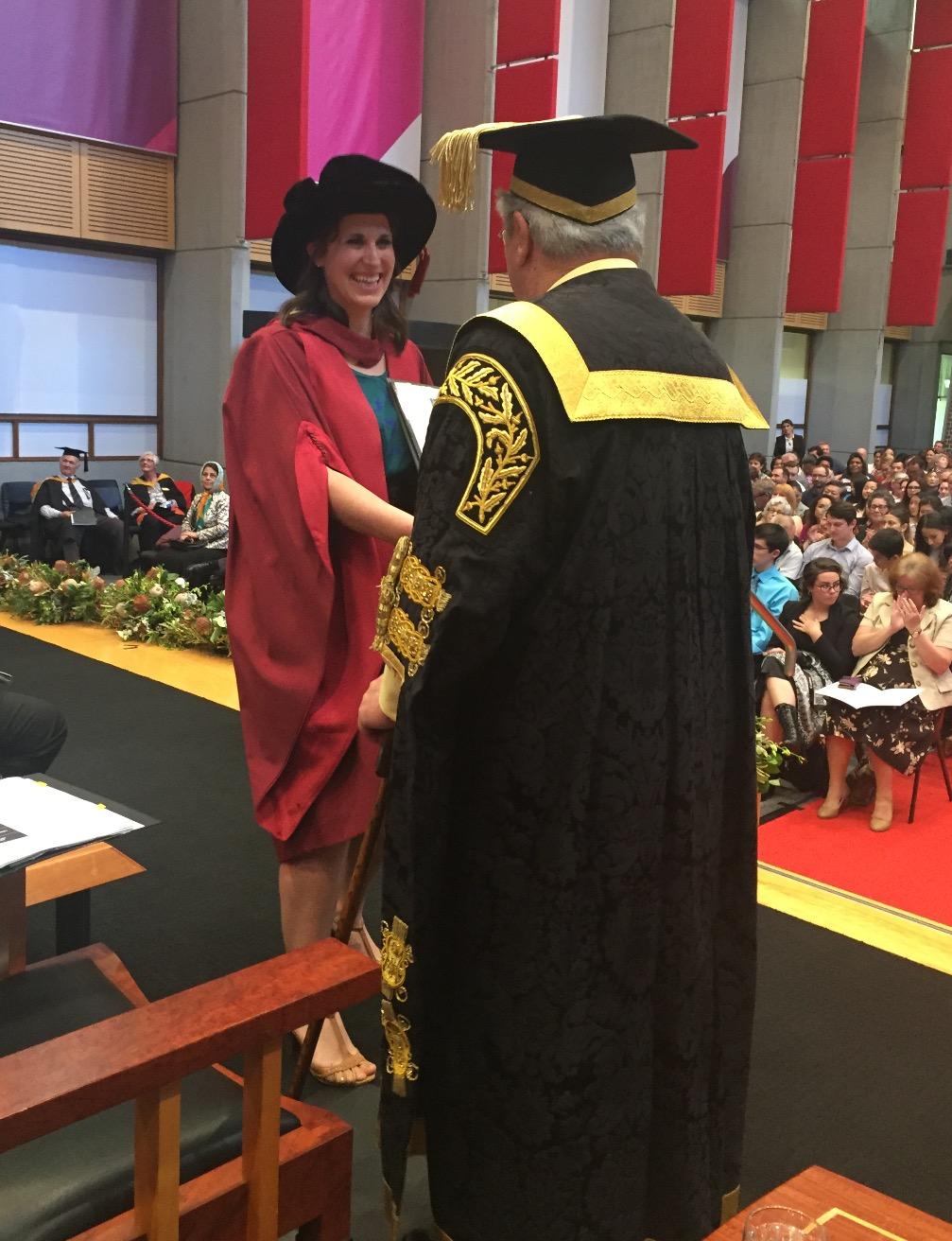 Graduation at Macquarie University