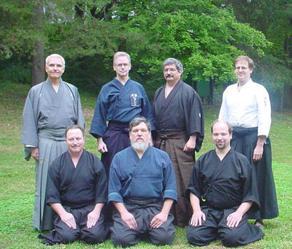 Kenkonkai's first Shinsa