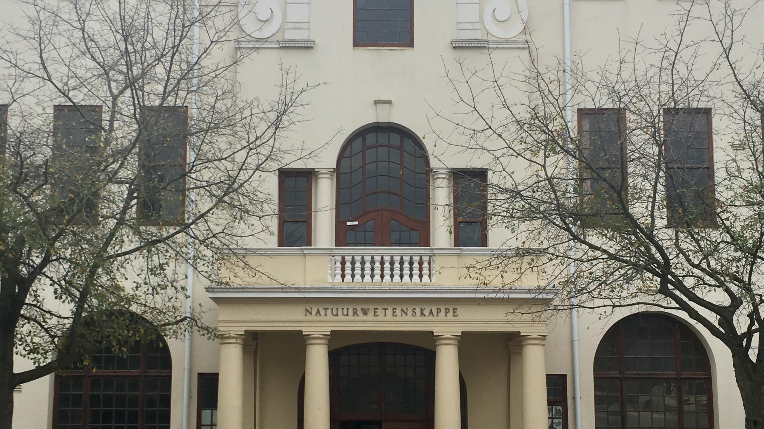 My new building at Stellenbosch University