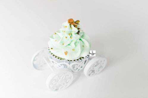 Vegan Pistachio Cupcake